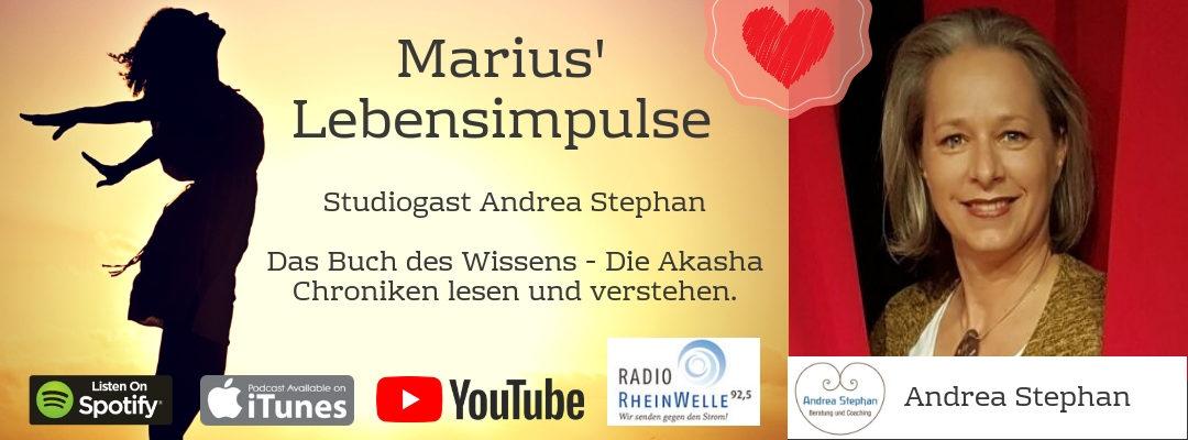 #7 Andrea Stephan – Das Buch des Wissens – Die Akasha Chroniken lesen und verstehen.