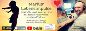 Marius Lebensimpulse Banner